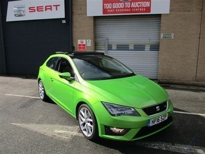 used Seat Leon 2.0 TDI FR (Tech Pack) SportCoupe (s/s) 3dr