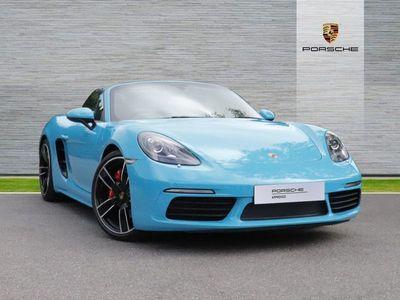 used Porsche 718 Boxster S