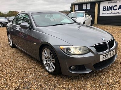 used BMW 320 3-Series Convertible i M Sport (2010) 2d
