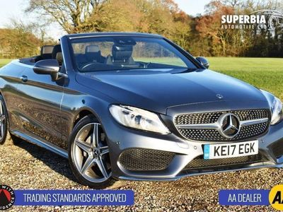 used Mercedes C220 C CLASS 2.1D AMG LINE 2d 168 BHP