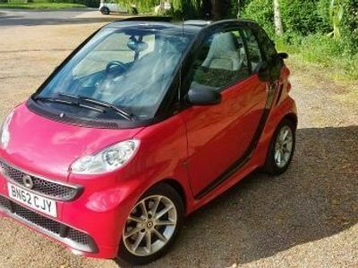 used Smart ForTwo Cabrio 1.0 MHD Passion Softouch 2dr