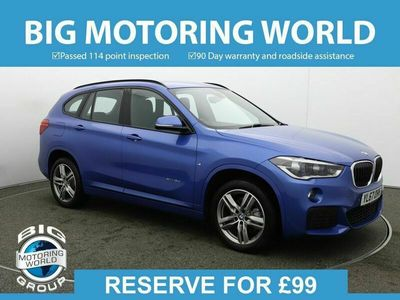 used BMW X1 XDRIVE18D M SPORT for sale | Big Motoring World