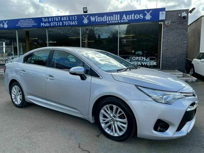 used Toyota Avensis 1.8 V-matic Business Edition Saloon 4d