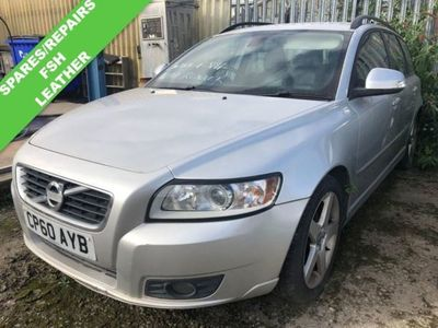 used Volvo V50 1.6 D2 SE 5d 113 BHP FSH LEATHER 2 KEYS