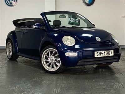 used VW Beetle 1.6 S Cabriolet 2dr