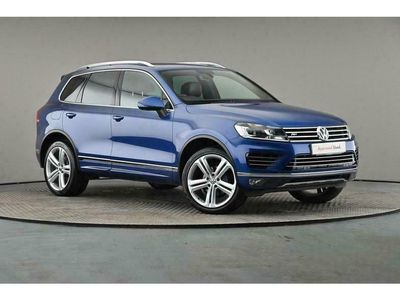used VW Touareg V6 R-Line Plus 3.0 TDI BMT SCR 262PS 8-speed Auto Tiptronic 5 Door