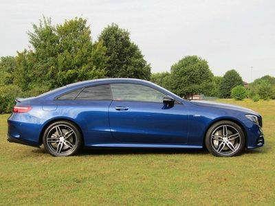 used Mercedes E53 AMG E Class 3.0EQ Boost AMG SpdS TCT 4MATIC+ (s/s) 2dr !PANROOF & LOW GENUINE MILES! Coupe 2019
