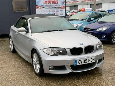 used BMW 120 Cabriolet 2.0 120i M Sport Auto 2dr
