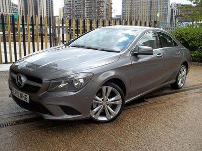 used Mercedes CLA220 CLA Class 2.1CDI Sport 7G-DCT (s/s) 4dr SAT/NAV