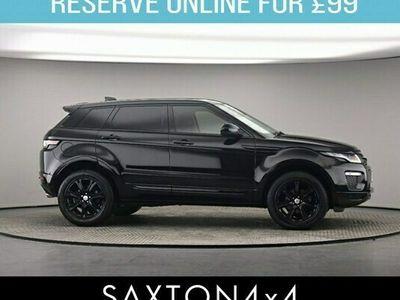 used Land Rover Range Rover evoque Estate 2.0 eD4 SE Tech 2WD Hatchback 5d