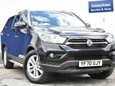 used Ssangyong Musso 2.2d Rebel Double Cab Pickup Auto 4WD EU6 4dr