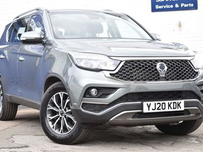 used Ssangyong Rexton 2.2D ELX T-Tronic 4WD 5dr (7 Seat)