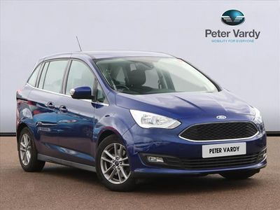 used Ford Grand C-Max Petrol 1.0 EcoBoost Zetec 5dr