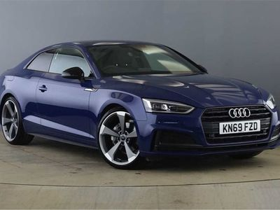 used Audi A5 2020 Bridgend Coup- Black Edition 40 TDI 190 PS S tronic