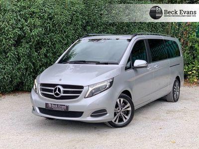 used Mercedes V220 V-Class 2.1BLUETEC SPORT Extra Long 5d 161 BHP EXTRA LONG WHEEL BASE