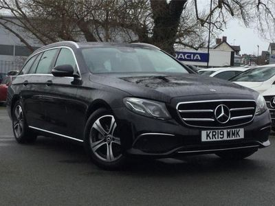 used Mercedes E220 E CLASS 2019 Llandudno JunctionSE 5dr 9G-Tronic