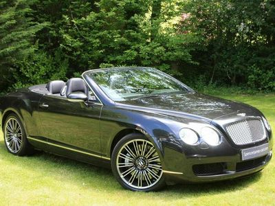 used Bentley Continental 6.0 GTC 2dr