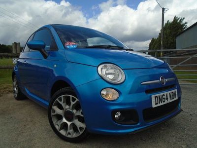 used Fiat 500 CONVERTIBLE S 1.3 2dr