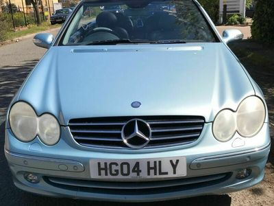 used Mercedes CLK240 CLK 2.6Avantgarde Cabriolet 2dr