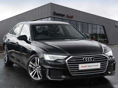 used Audi A6 50 TDI Quattro S Line 4dr Tip Auto Saloon 2018