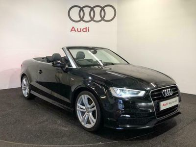used Audi A3 Cabriolet S line 1.4 TFSI cylinder on demand 150 PS 6 speed