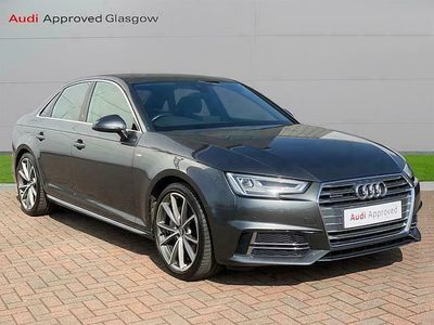 used Audi A4 Saloon S line 2.0 TDI quattro 190 PS S tronic
