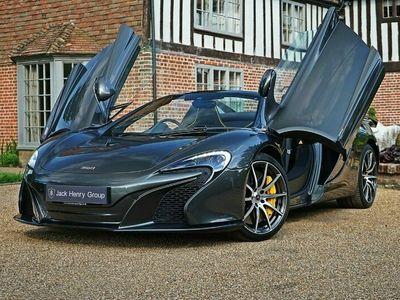 used McLaren 650S 3.8 V8 Spider SSG 2dr