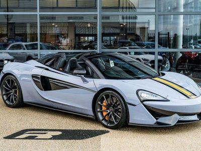 used McLaren 570S 3.8T V8 Spider SSG (s/s) 2dr