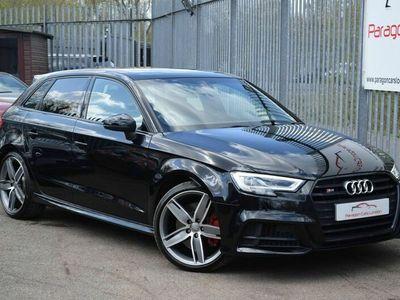 used Audi S3 Sportback 2.0 TFSI Black Edition S Tronic quattro (s/s) 5dr