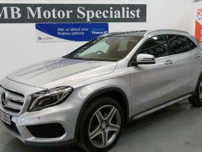 used Mercedes GLA250 GLA-Class Estate4Matic AMG Line (Premium Plus) 5d Auto