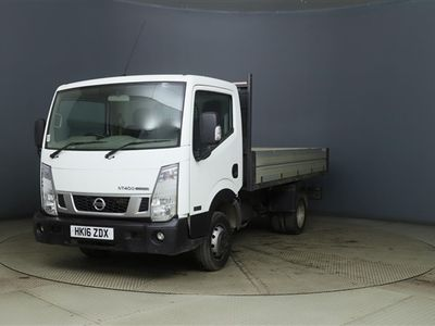 used Nissan Cabstar DCI 35.14 TIPPER,WITH DUAL REAR WHEELS,ALLOY SIDED,STEEL BED