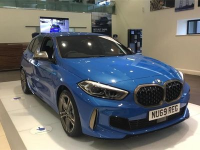 used BMW M135 1 SERIES HATCHBACK i xDrive 5dr Step Auto