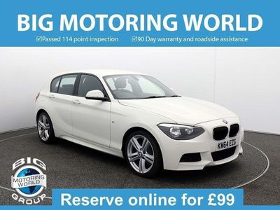 used BMW 118 1 Series D M SPORT for sale | Big Motoring World