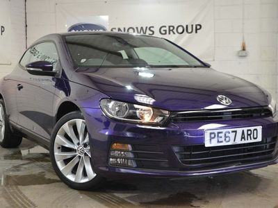 used VW Scirocco 1.4 TSI BlueMotion Tech 3dr