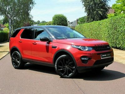 used Land Rover Discovery Sport 2.0 TD4 HSE Black 4X4 (s/s) 5dr