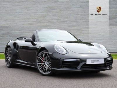 used Porsche 911 [991] TURBO CABRIOLET 2dr PDK 3.8