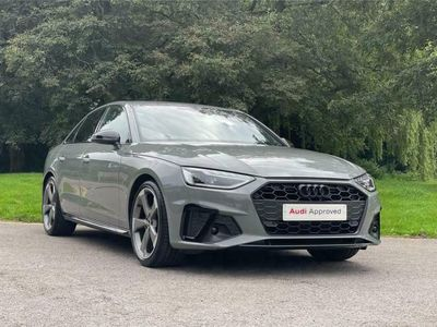 used Audi A4 DIESEL SALOON 30 TDI Black Edition 4dr S Tronic