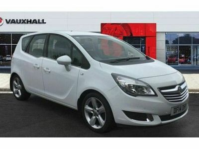 used Vauxhall Meriva 1.4i 16V Tech Line 5dr