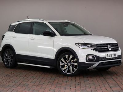 used VW T-Cross - 1.0 TSI 115 First Edition 5dr