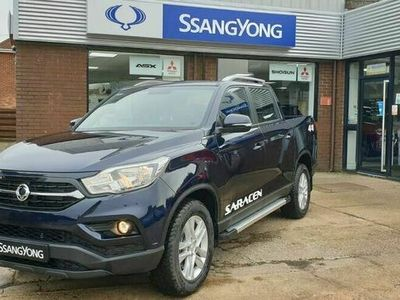 used Ssangyong Musso 2.2TD Saracen (Eu6dT) auto