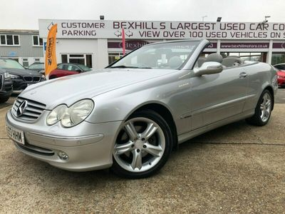used Mercedes CLK240 Elegance 2dr Tip Auto