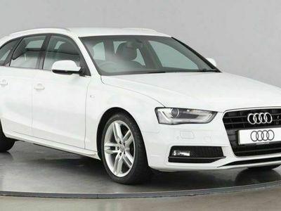 used Audi A4 AVANT TDI S LINE NAV 2.0 5dr