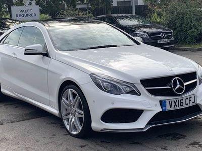 used Mercedes E350 E-ClassAMG Line Edition 2dr 9G-Tronic