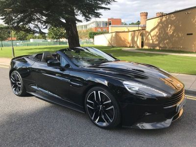 used Aston Martin Vanquish 5.9 V12 Volante Touchtronic III 2dr