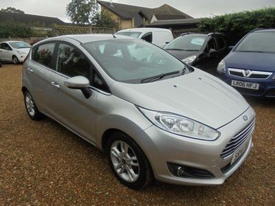 used Ford Fiesta 1.25 Zetec 5dr