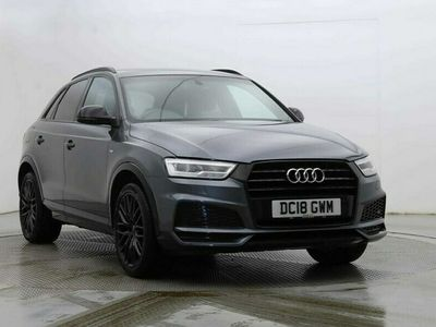used Audi Q3 1.4T FSI Black Edition 5dr S Tronic Estate 2018