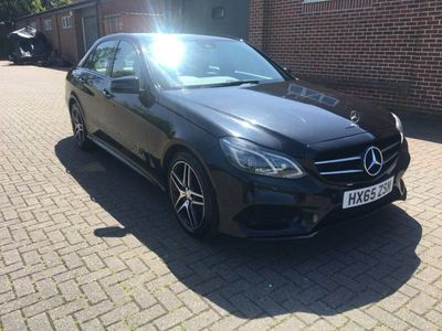 used Mercedes E220 E Class 2.1CDI BlueTEC AMG Night Edition 7G-Tronic Plus 4dr