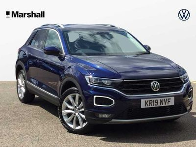used VW T-Roc 2017 2.0 TDI SEL 150PS DSG * Dicover Navigation, App-Connect *