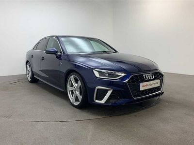 used Audi A4 S line 35 TFSI 150 PS 6-speed