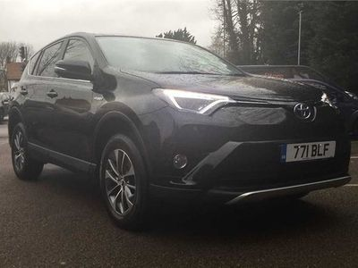 used Toyota RAV4 2.5 VVT-h Business Edition Plus CVT (s/s) 5dr